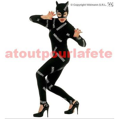 Déguisement Cat Woman (combinaison + Cagoule),Super  Heros, Bd, dessin - Anime Catwoman Kostüm