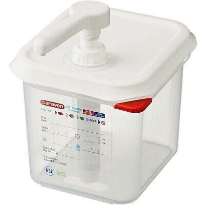 Restaurant Equipment Supplies 1 Ounce Pump Condiment Dispenser Araven