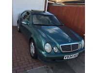 MERCEDES CLK 320 V6 - OPEN TO OFFERS OR SWAP