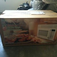 2013 Magic Chef Over The Range Microwave Oven