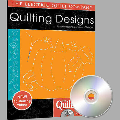 QUILTMAKER QUILTING DESIGNS Volume 3 Software NEW CD Quiltmaker Quilting Designs