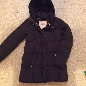 Hollister Jacket size small & old navy pea coat