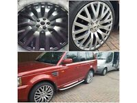 Mobile Alloy Wheel Refurbishment Service
