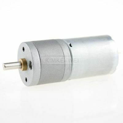 25mm 6v Dc 10rpm Powerful High Torque Gear Box Motor