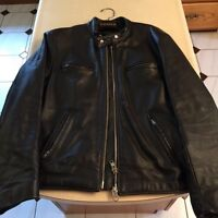 Leather Motorcycle Jackets/Vest