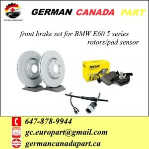 Front brake set for BMW 5 series E60 (2004-2010)