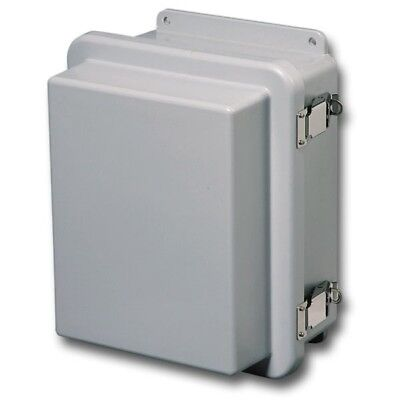 Hubbell Stahlin Enclosure12 H X 8 D X 12 W Rj1212hpl Light Gray