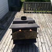 Vagabond Wood Stove Great for Camp