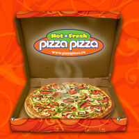 PIZZA PIZZA LOOKING FOR COOKS