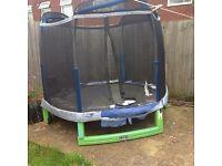 My 1st trampoline