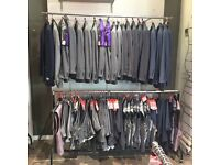 JOB LOT - EX HIRE SUITS & ACCESSORIES