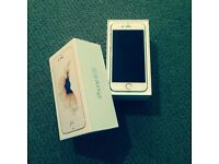 iPhone 6s 64bg White gold with warranty!