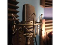 Recording studio with experienced producer