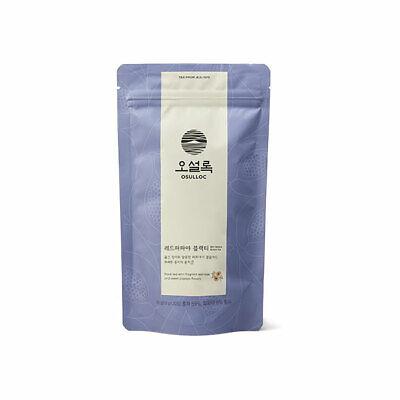 OSULLOC red papaya black tea 20 bags, made in Korea. blended tea