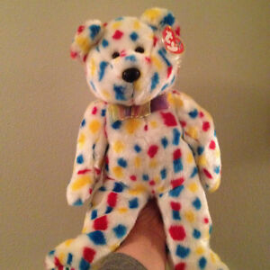 Ty2K the Bear Ty Beanie Buddy Stuffed Animal
