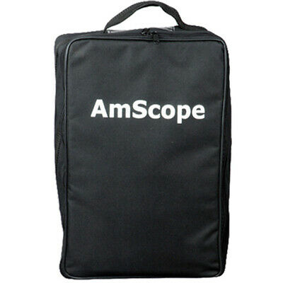 Amscope Cb-b490 Microscope Vinyl Carrying Bag Case Medium