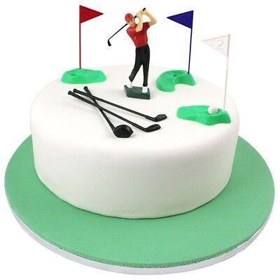 Golf Set Cake Decoration - 13 piece By PME (Golf Decoration)