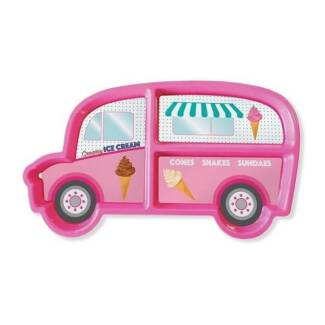 DinnerTime Ice Cream Van Food Tray Lunch Plate - Perth