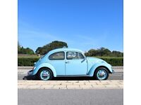 1974 Classic VW Beetle in beautiful condition