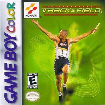 Intl Track   Field Gbc New Game Boy Color