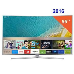 SAMSUNG 55INCH 4K 480HZ CURVED SMART LED TV ------ UN55HU7200 NO TAX DEAL