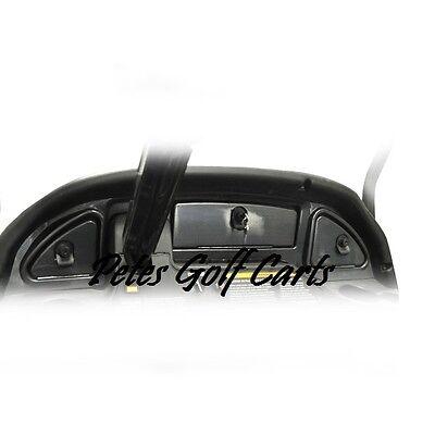 (Club Car Precedent Golf Cart Carbon Fiber Dash for 2008.5 and Up)