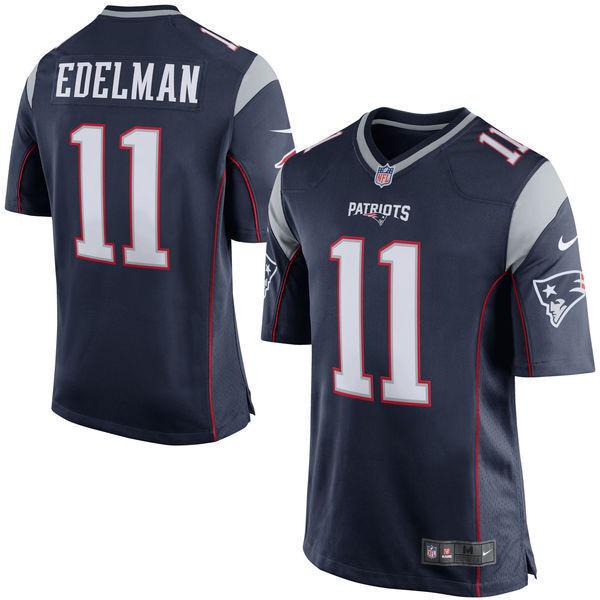 BNWT Nike Julian Edelman New England Patriots NFL Game American Football Jersey