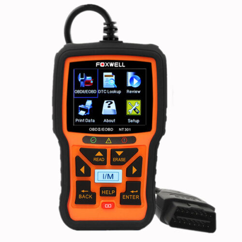 NT301 EOBD OBD2 Car Scanner Diagnostic Fault Code Reader Scan Tool Wonderful