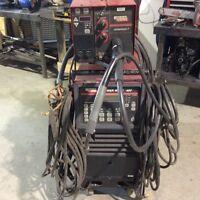 LINCOLN ELECTRIC INVERTEC POWER WAVE 450 WELDER