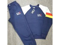Navy Blue Full Jogging Tracksuits Brand New