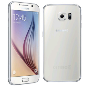 Samsung S6 Pearl White 32GB Rogers