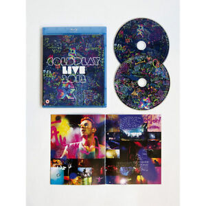 Coldplay Live blu-ray and CD set