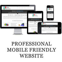 Complete webdesign services Canada - Complete website ONLY $399