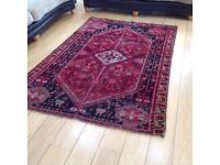 Persian quashqia tribal rug