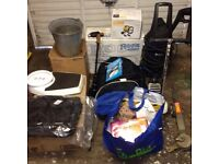 Job lot of car boot sale items