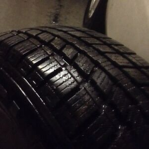 Winter tires 225/65/17 like new12/32 with Ford mags 5/114.3