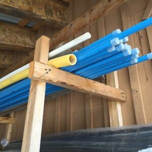 Air piping for shop