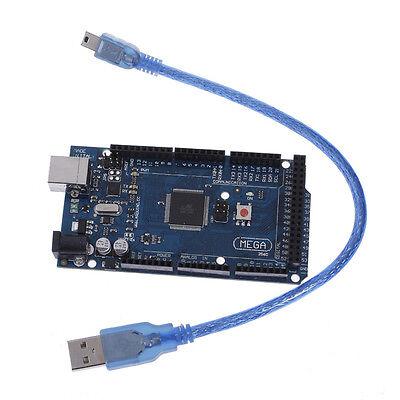 New Arduino Mega 2560 R3 ATmega2560 16AU 16U2-MU COMPATIBLE Module & USB