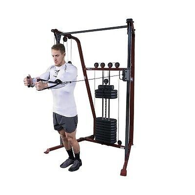Body Solid Best Fitness FUNCTIONAL TRAINER Total Home Gym Fitness Machine