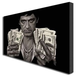 SCARFACE TONY MONTANA PAINTING ART BOX PRINT CANVAS 406