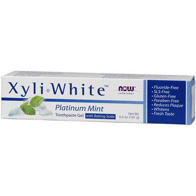 Now Foods Xyliwhite Zahnpasta Gel (Zahnpasta Gel, Xyliwhite Platin Minze, 6.4oz (181g) - Now Foods)
