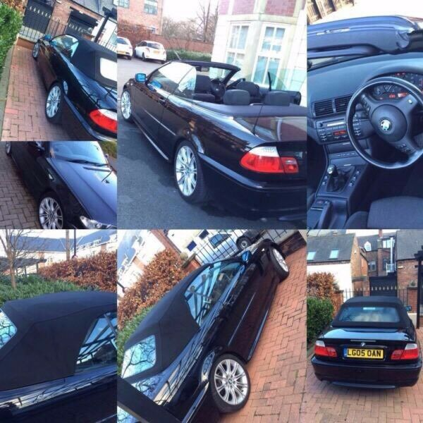 Bmw 3 Series M Sport Convertible Diesel 320D Full Service History