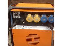 Brookthompson welder generator Honda 13hp 210amp