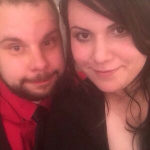 Couple looking for an apartment