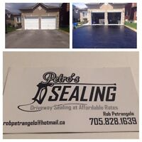 PETRO'S SEALING - SEAL YOUR DRIVEWAY