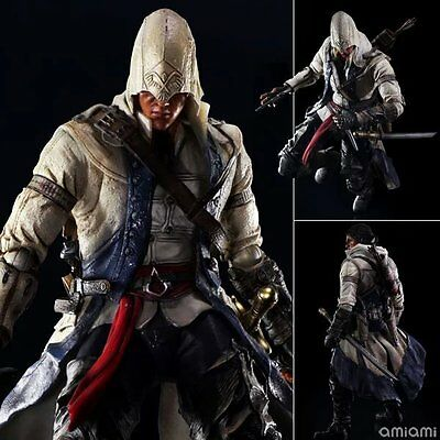 Assassins Creed Connor (Assassin's Creed 3 - Play Arts Kai Connor Kenway PVC Action Figure New no)
