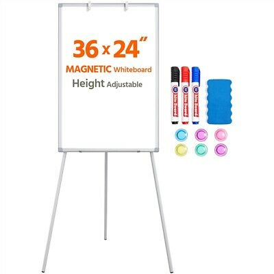 Magnetic Tripod Whiteboard 36 X 24 Adjustable Portable White Board Dry Erase