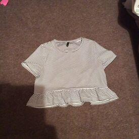 H&M ladies crop top
