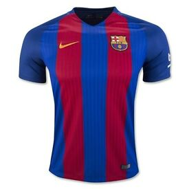 Barca Barcelona home away football soccer jersey shirt