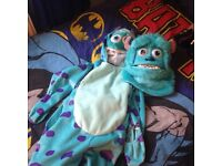 Monsters inc sully dress up and mask 3 4 years ideal for world book day